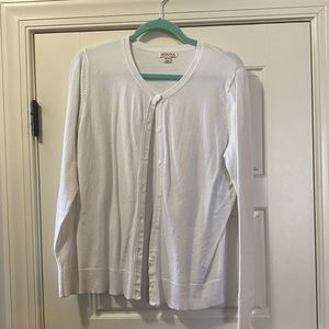 Merona sweater with buttons